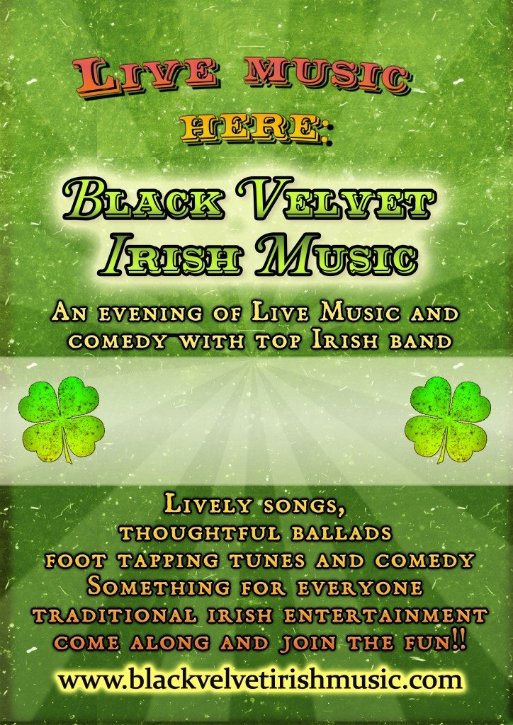 Black Velvet Irish music cornwall image